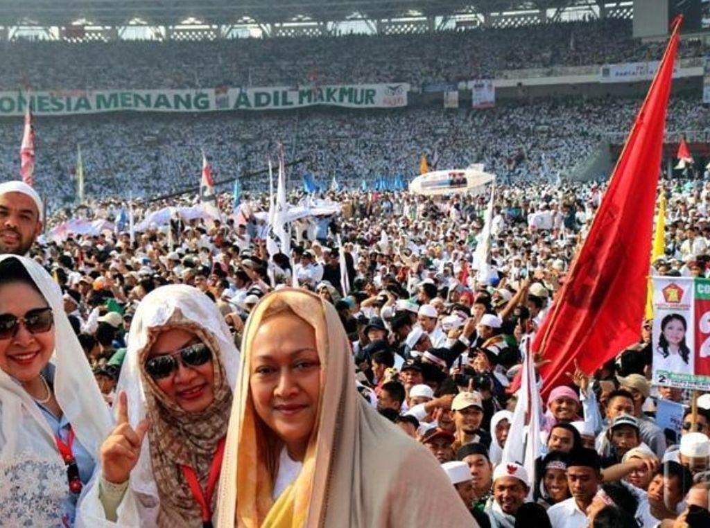 Kehadiran Tiga Putri Pak Harto Sempurnakan Kampanye Akbar Prabowo-Sandi