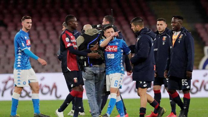 Napoli sudah menyerah kejar Juventus (Ciro De Luca/REUTERS)