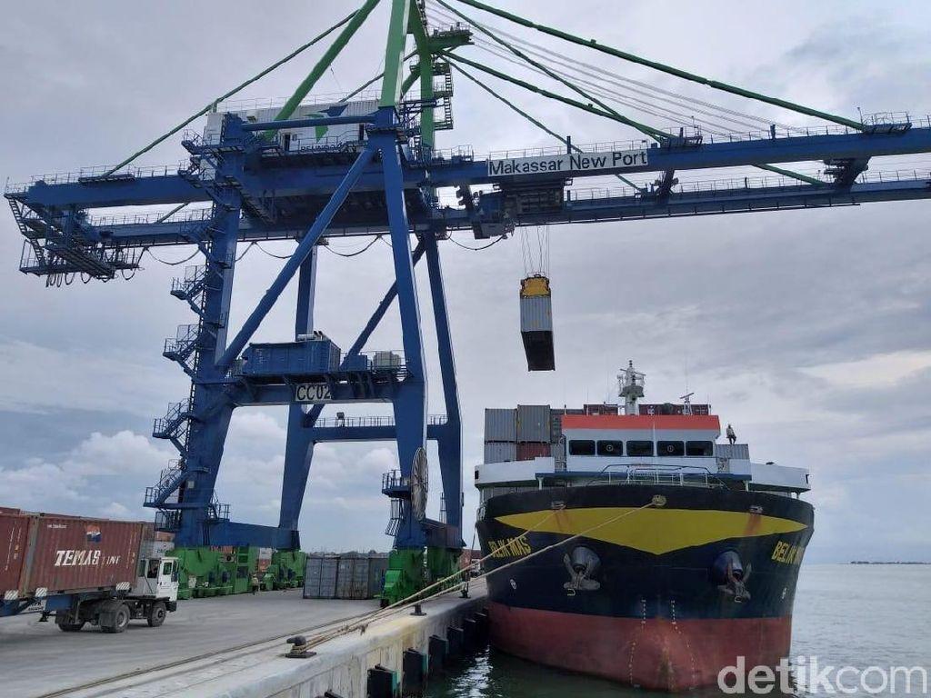 Makassar New Port Resmi Beroperasi Penuh
