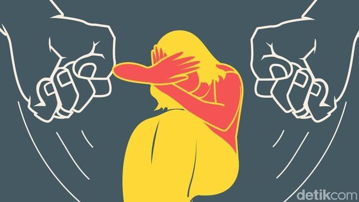 Ilustrasi pengeroyokan, ilustrasi penganiayaan, audrey