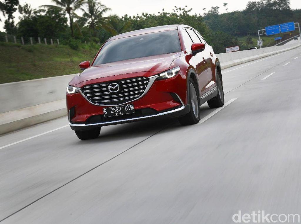 Menguji SUV Mahal Mazda di Panasnya Tol Trans Sumatera