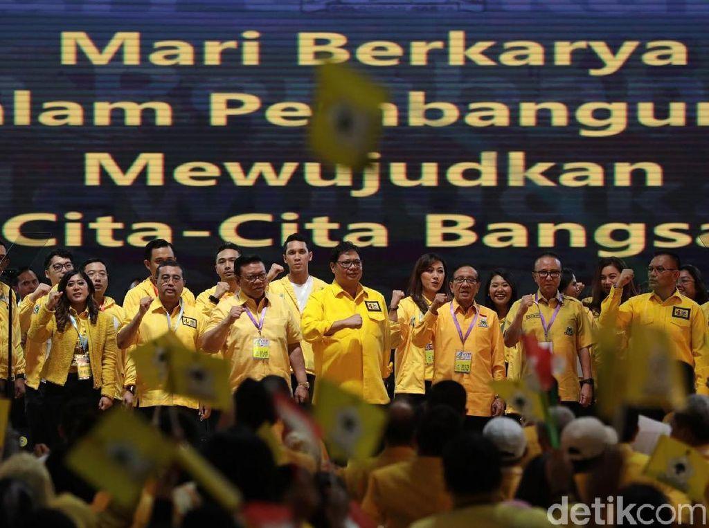 Ada Kader Dukung Prabowo, Golkar Tegaskan Tetap Solid Menangkan Jokowi