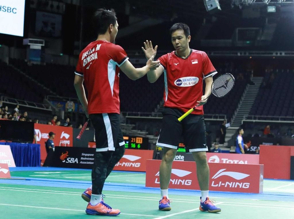 Hendra/Ahsan Mau Enjoy di All England