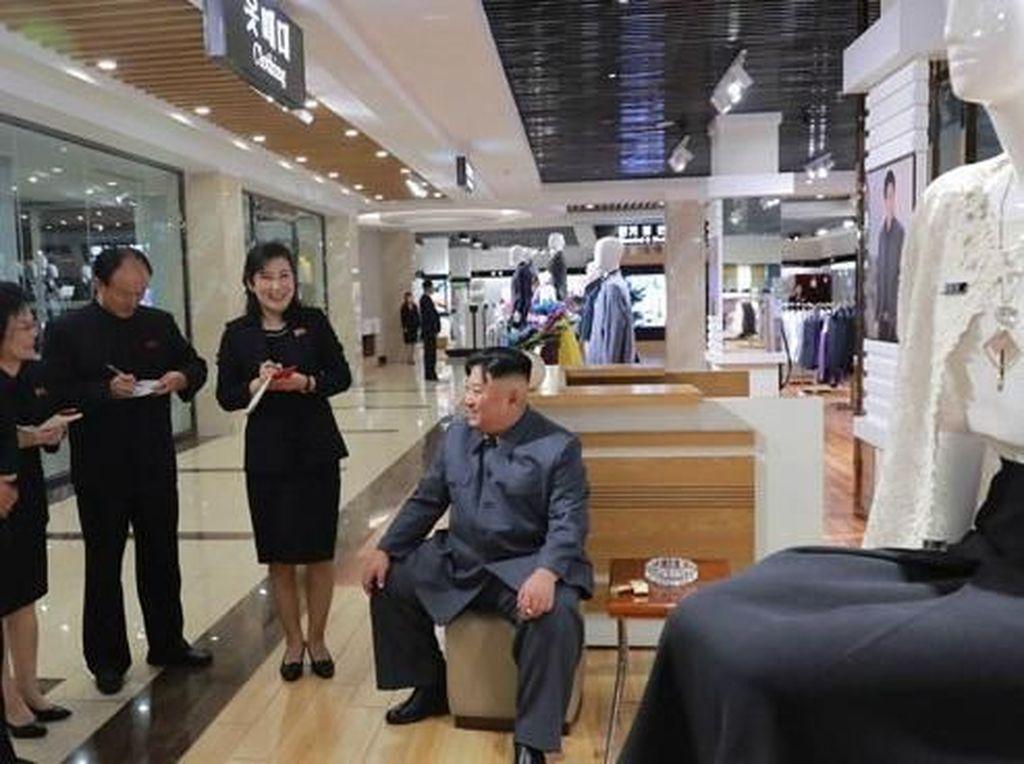 Foto: Begini Penampakan Mal di Korea Utara yang Baru Diresmikan Kim Jong Un