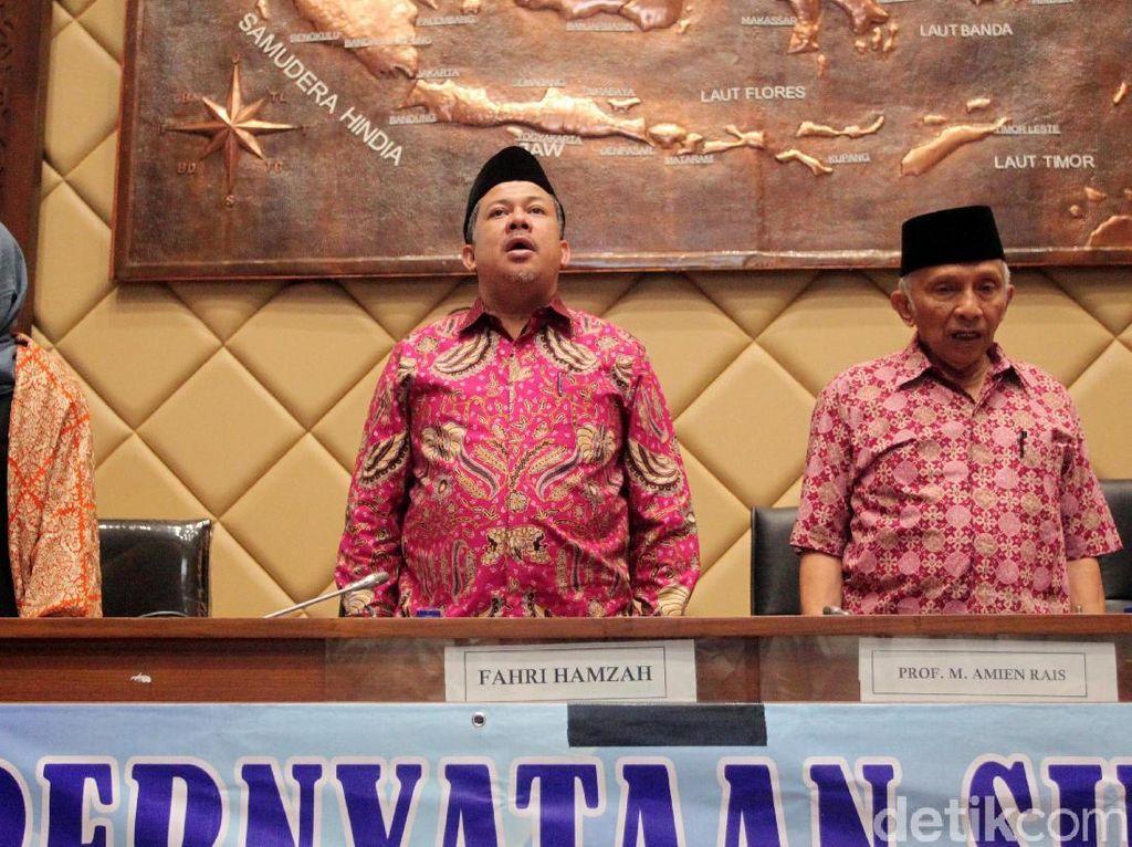 Partai Ummat Hadir, Fahri Kenang Kepemimpinan Amien Rais Saat Reformasi