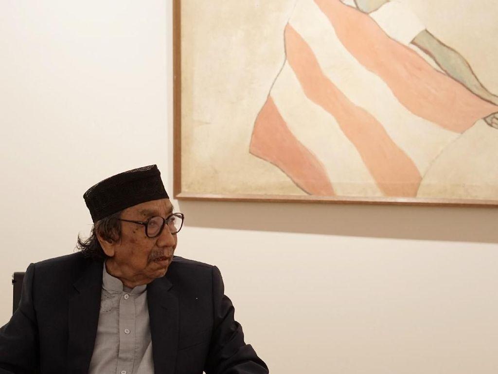 Jeihan Sukmantoro Melahirkan Lebih dari 3.000 Karya