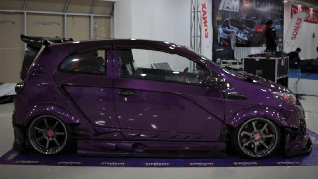 Dirombak Total, Modifikasi Toyota Agya Ini Habis Rp 300 Juta!