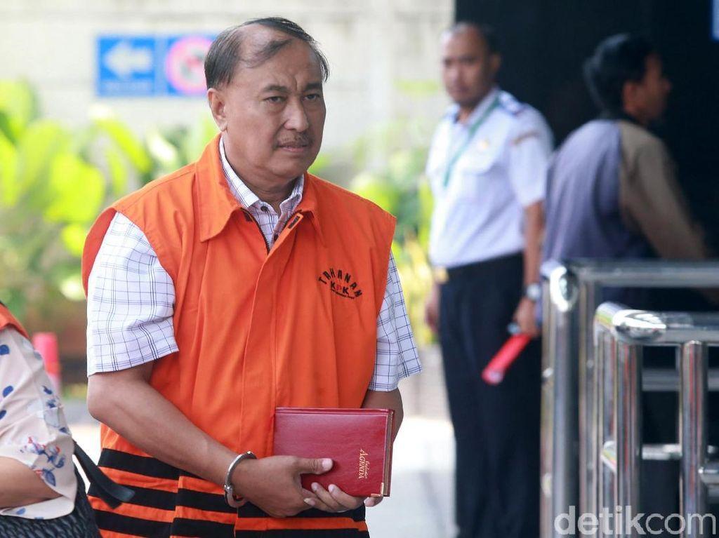 Pemeriksaan Perdana Markus Nari Pasca Ditahan