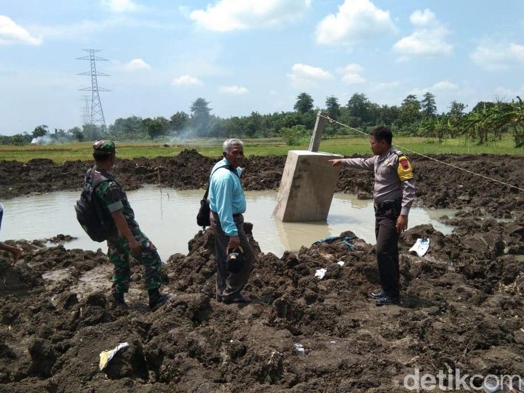 Bocah SD Tenggelam di Kubangan Galian Proyek Sutet di Grobogan
