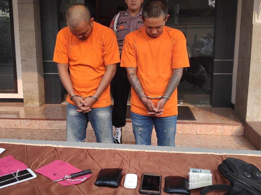 Polisi Tangkap 2 Pria Pencuri di Rumah Kosong di Depok