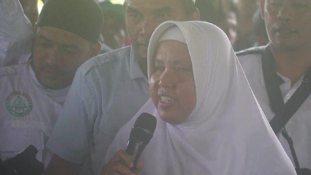 Ketua Persatuam Tuna Netra Indonesia (Pertuni) Lombok, Fitri