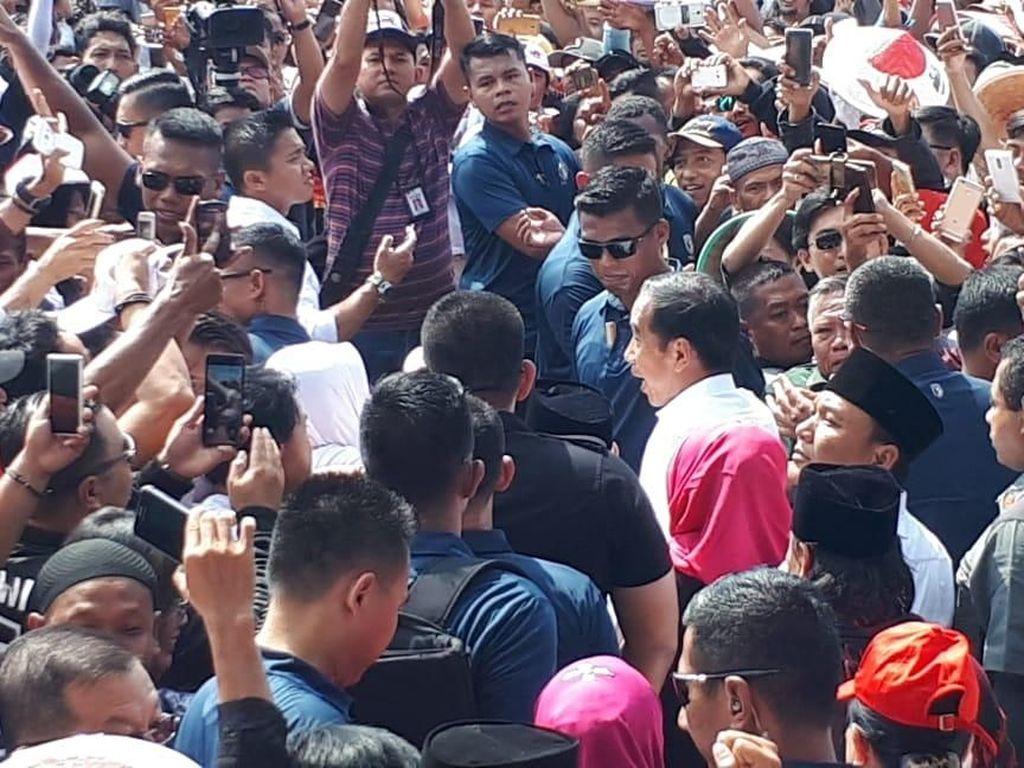 Jokowi: Pemilu Harus Gembira, Jangan Ada yang Suka Marah-marah