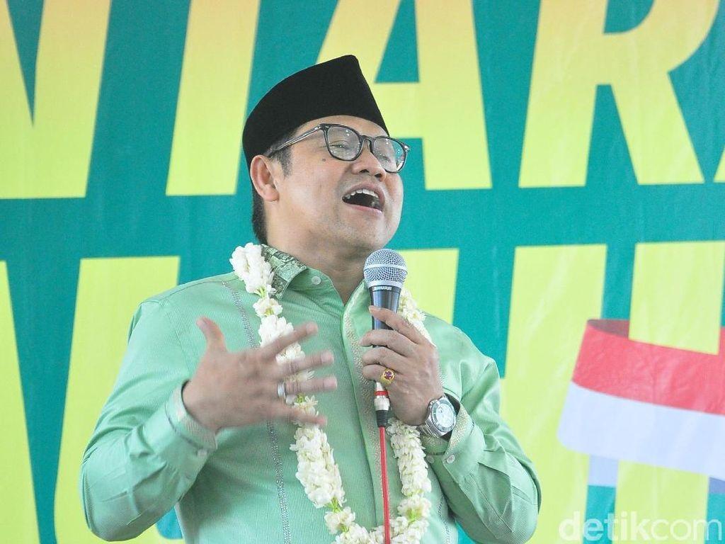 Cak Imin: Koalisi Jokowi Sudah Gemuk, tapi demi Rekonsiliasi ya Monggo