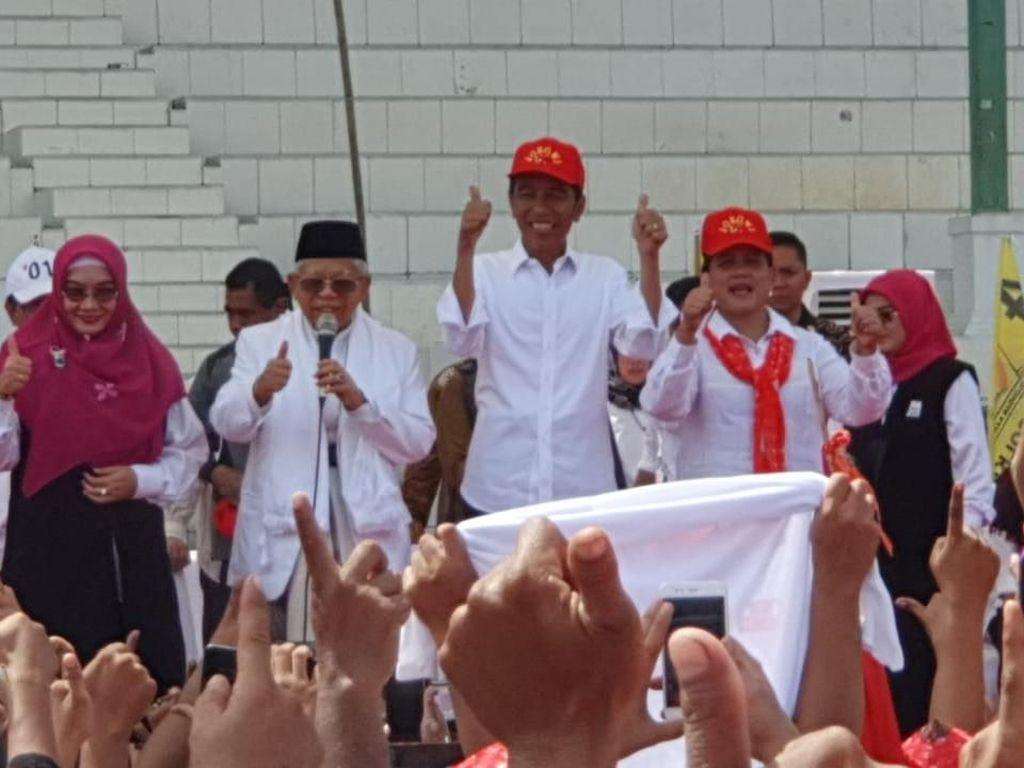 Ekonomi RI di Atas 5%, Jokowi: Kita Harus Bersyukur kepada Allah