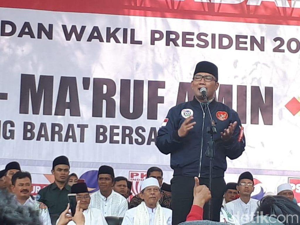 Ridwan Kamil ke Pro-Jokowi di Jabar: Gas Pol Jangan Kendor!