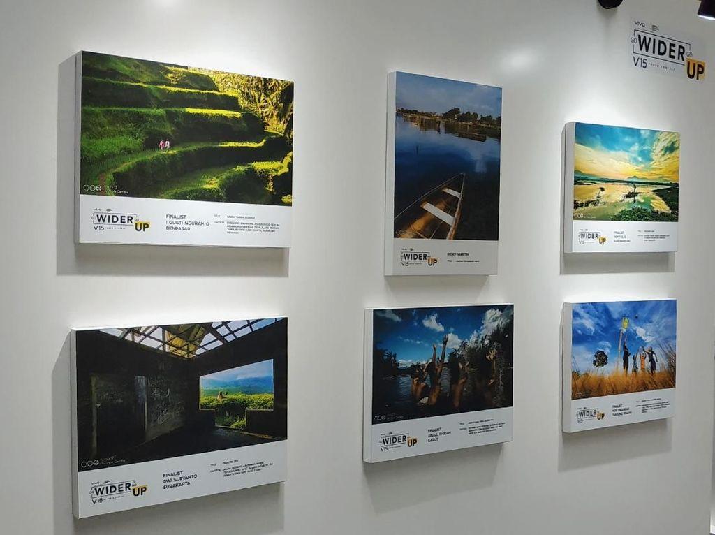 Vivo Pajang Karya Jawara Kompetisi Foto Go Wider Go Up