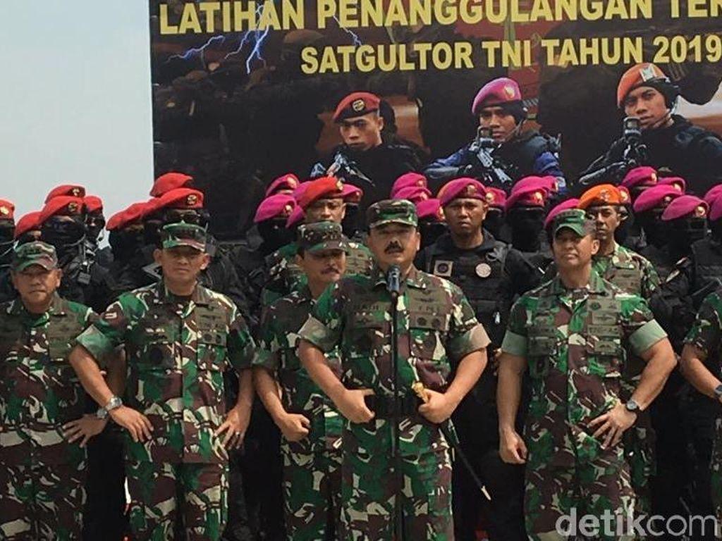 Panglima: Mengganggu Stabilitas Politik dan Pancasila, Berhadapan dengan TNI!