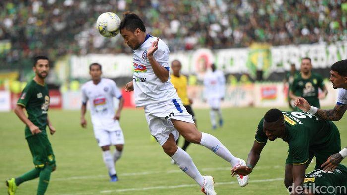 Hamka Hamzah jadi pemain terbaik Piala Presiden 2019 (Antara Foto)