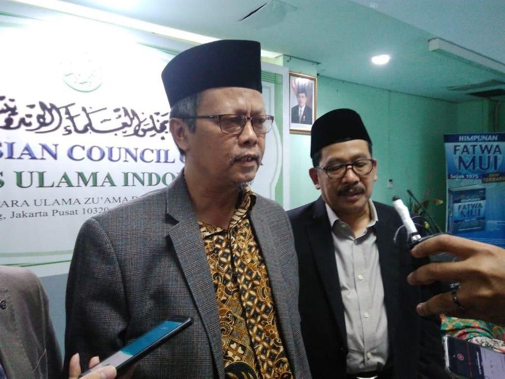 MUI Serahkan Tafsir Rangkap Jabatan ke Maruf Amin