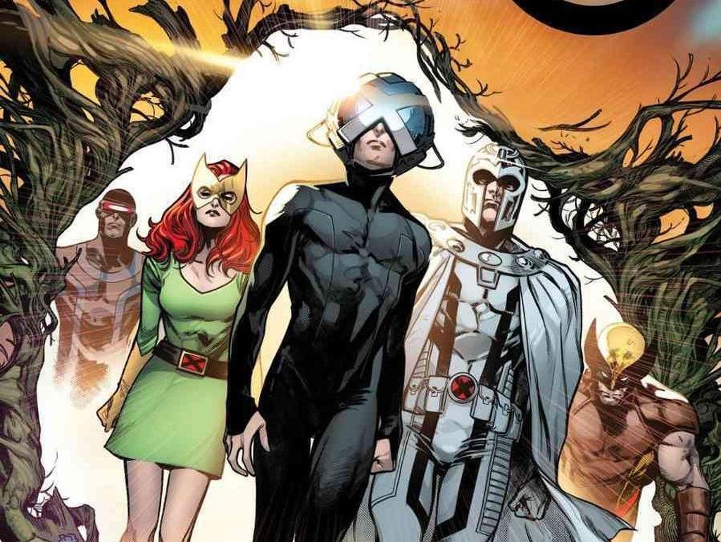 Ada Simbol Misterius di Seri Komik X-Men Terbaru