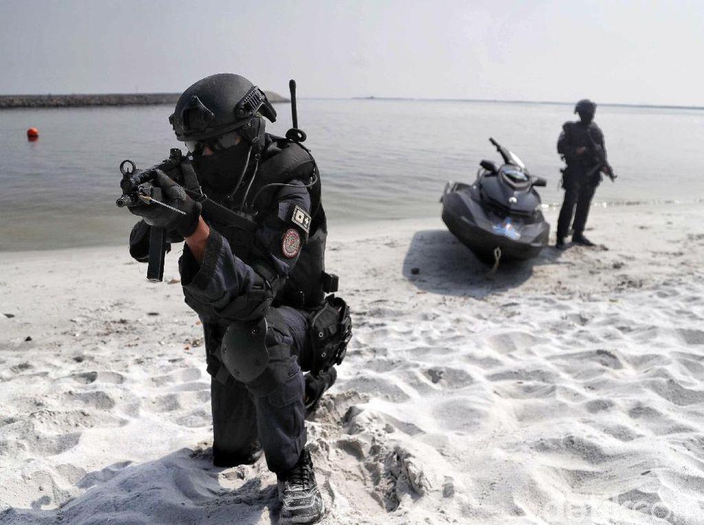 TNI Gelar Simulasi Penanggulangan Terorisme