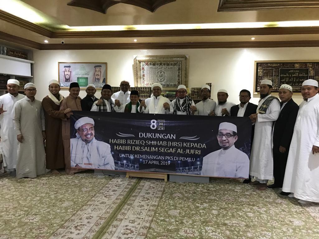 Habib Rizieq Singgung Partai Islam Berkhianat, Ini Kata PKS