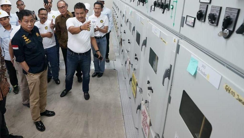 Jonan Resmikan 3 Gardu Induk di Aceh