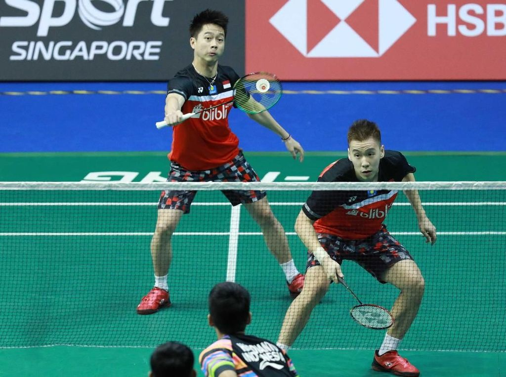 Kevin/Marcus Kalah, Indonesia Tanpa Gelar di Kejuaraan Bulutangkis Asia