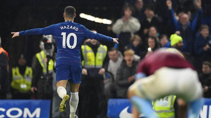 Eden Hazard bakal cocok gabung Real Madrid (Reuters/Tony OBrien)