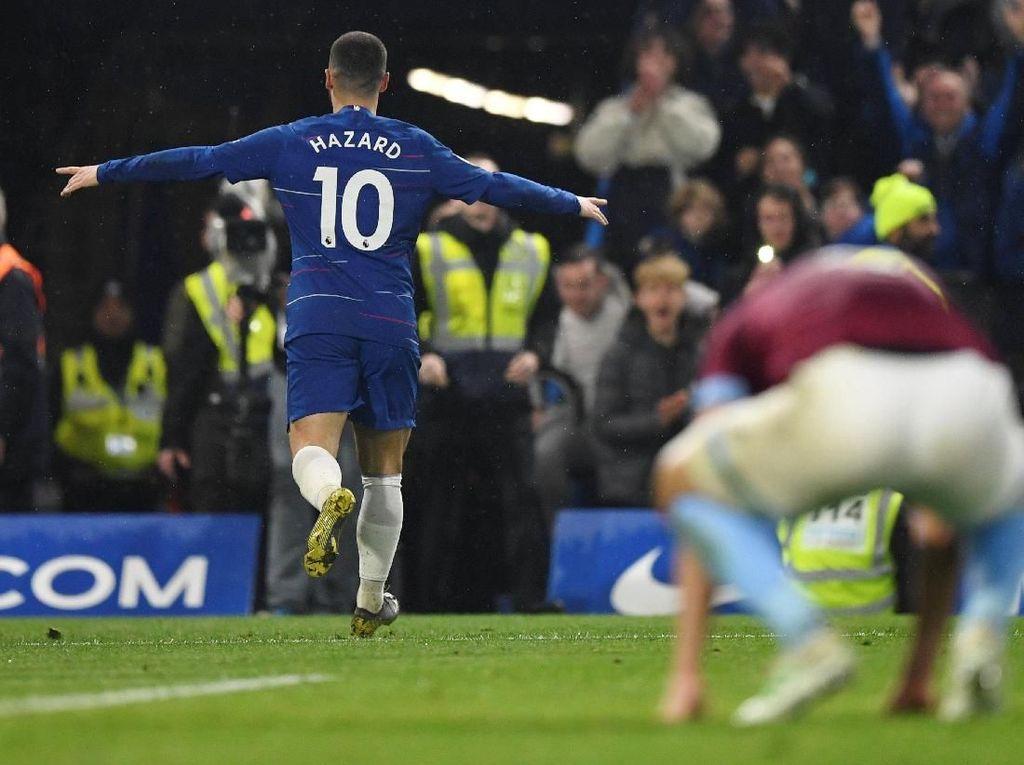Chelsea vs West Ham: Pertunjukan Spesial Eden Hazard