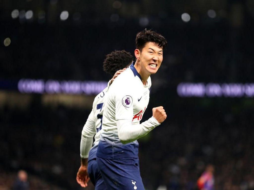 Tottenham vs Man City: Bikin Gol Bersejarah Lagi, Son?