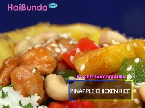 Resep Pineapple Chicken Rice/