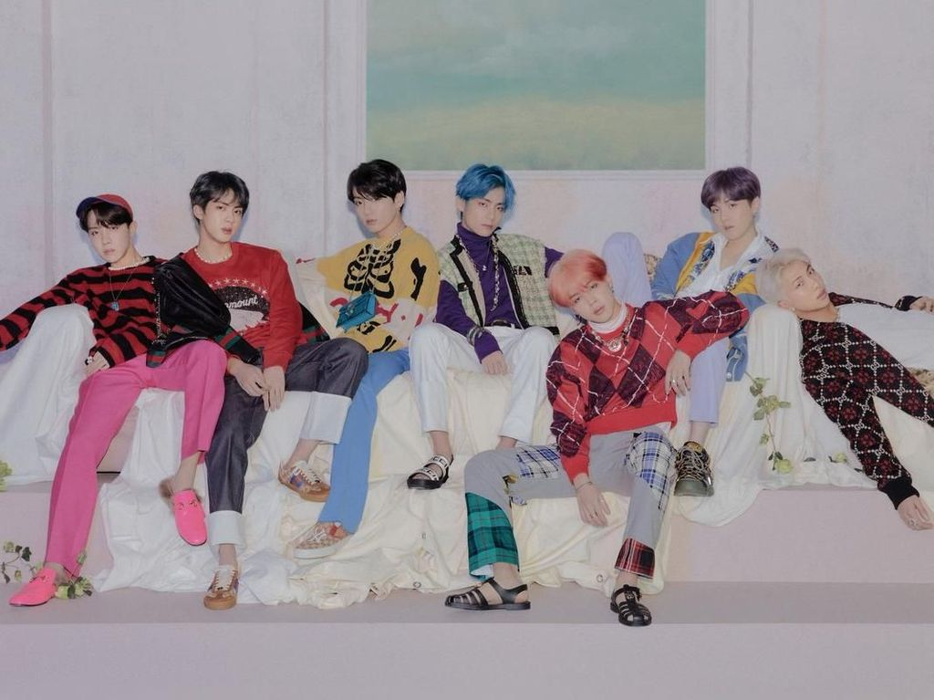 Cetak Sejarah, Album Baru BTS Rajai Chart Billboard 200