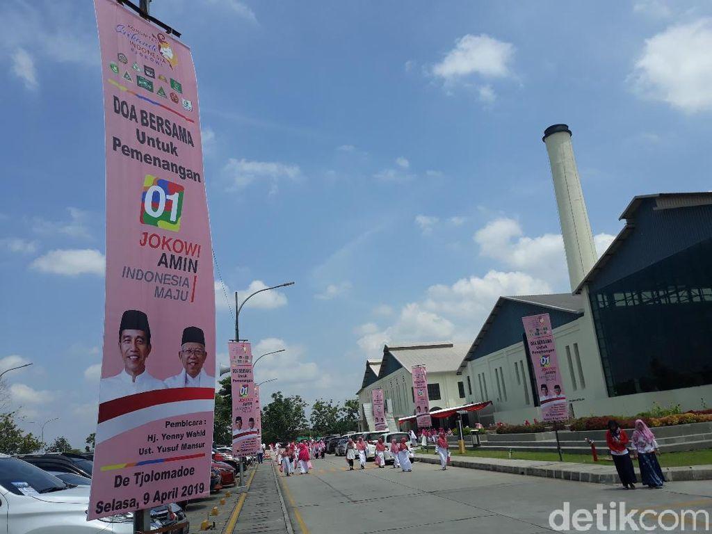 Ada Logo Banom NU di Acara Relawan Jokowi, Yenny Wahid Angkat Bicara
