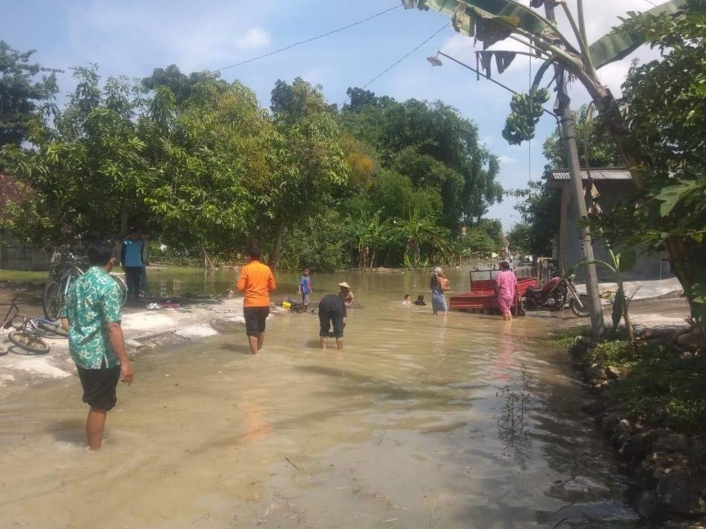 Banjir dan Longsor Melanda Beberapa Titik Lokasi di Grobogan