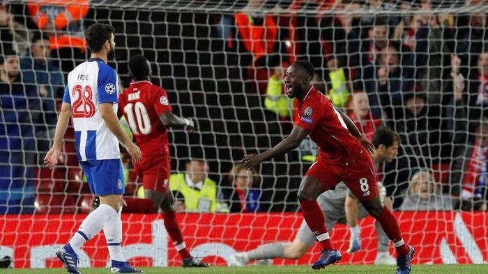 Liverpool kalahkan Porto 2-0 di leg pertama perempatfinal Liga Champions (Phil Noble/Reuters)