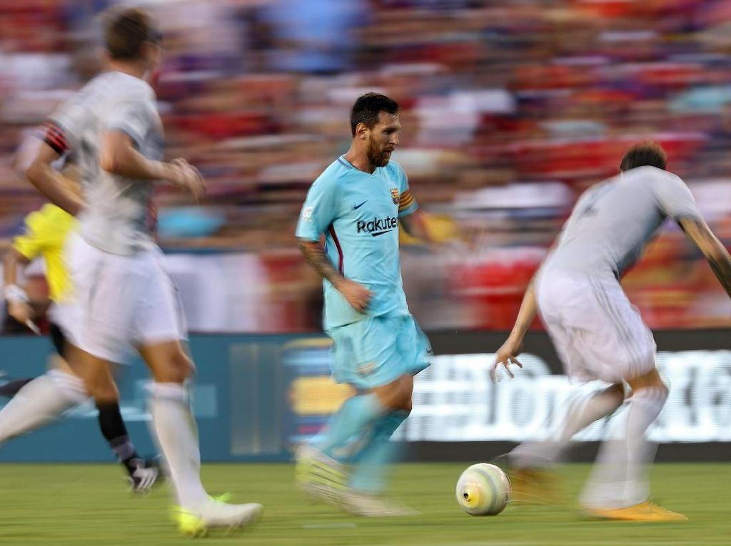 Messi Mejan di Perempatfinal, Bagaimana di Old Trafford?