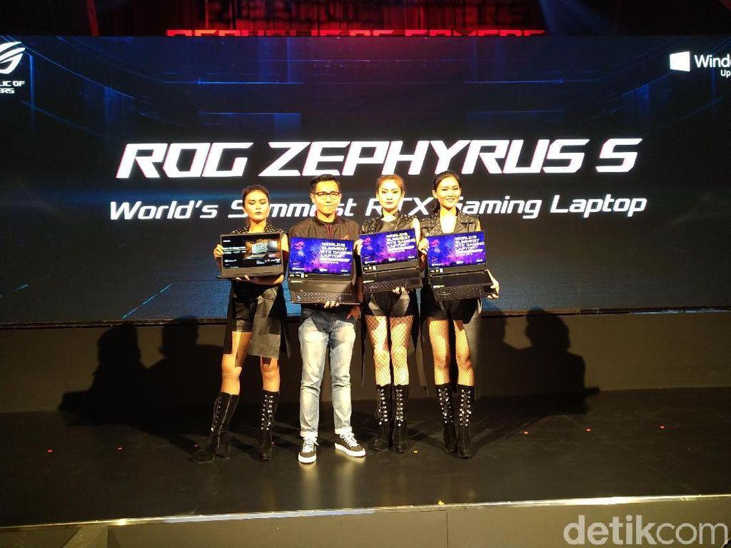 Asus Rilis Dua Laptop Gaming RTX Tertipis di Dunia