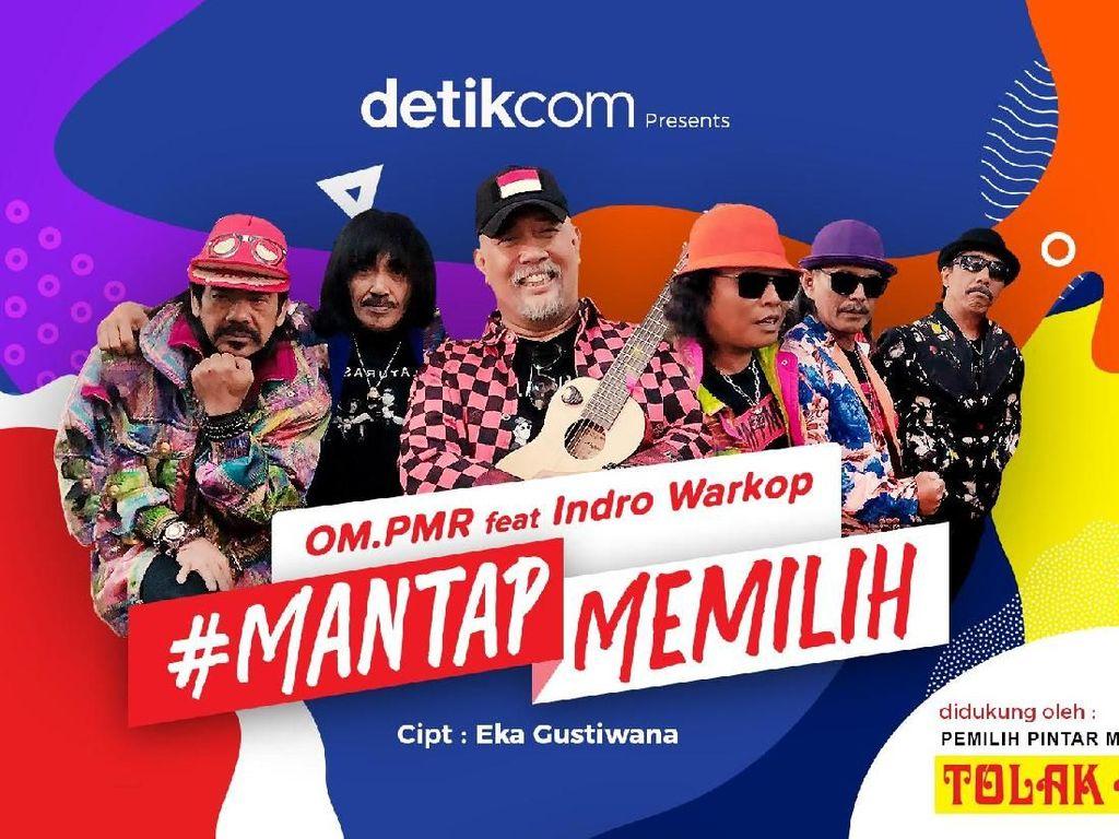 Mantap Memilih OM PMR ft. Indro Warkop Kini Ena Ena di iTunes dan Spotify
