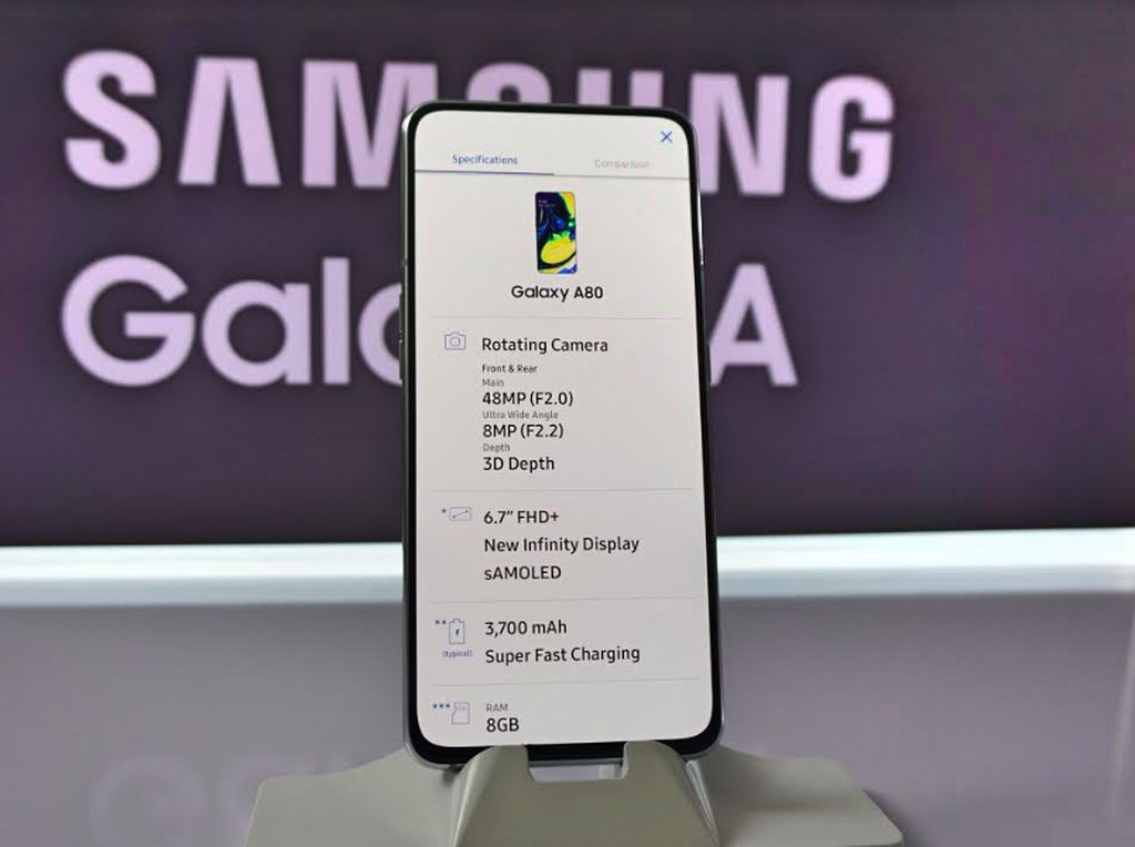 Samsung Galaxy A80 Pamer Performa Lewat Skor Benchmark