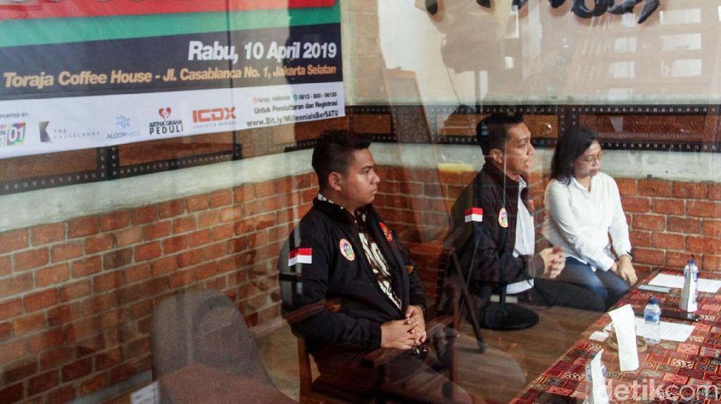 Toraja Millenials Bersatu Dukung Jokowi-Maruf Amin