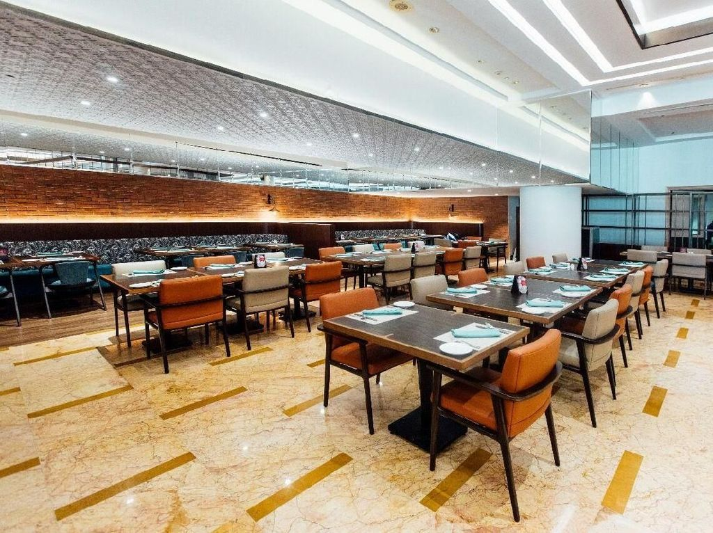 Wajah Baru Restoran Sailendra dengan Sentuhan Modern Elegan