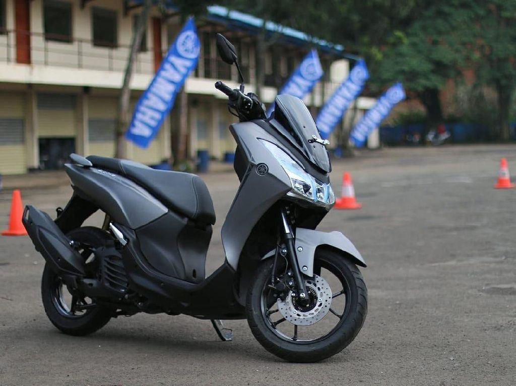 Yamaha Lexi Jadi Best of Medium Skutik 125