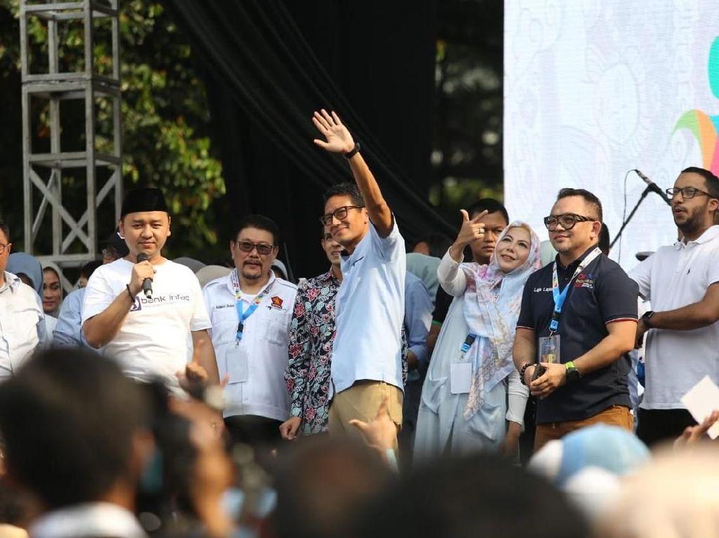 Sandiaga: Kita Sudah Hadirkan Perubahan di DKI, Ulangi di Indonesia!
