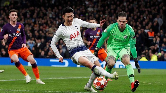 Manchester City akan menjamu Tottenham Hotspur di leg kedua perempatfinal Liga Champions. (Foto: Reuters)