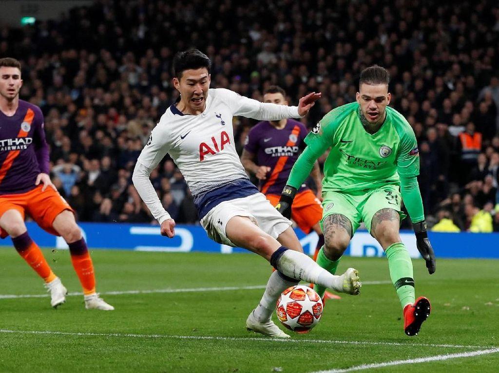 Preview Manchester City Vs Tottenham: Menyerang Tanpa Kane