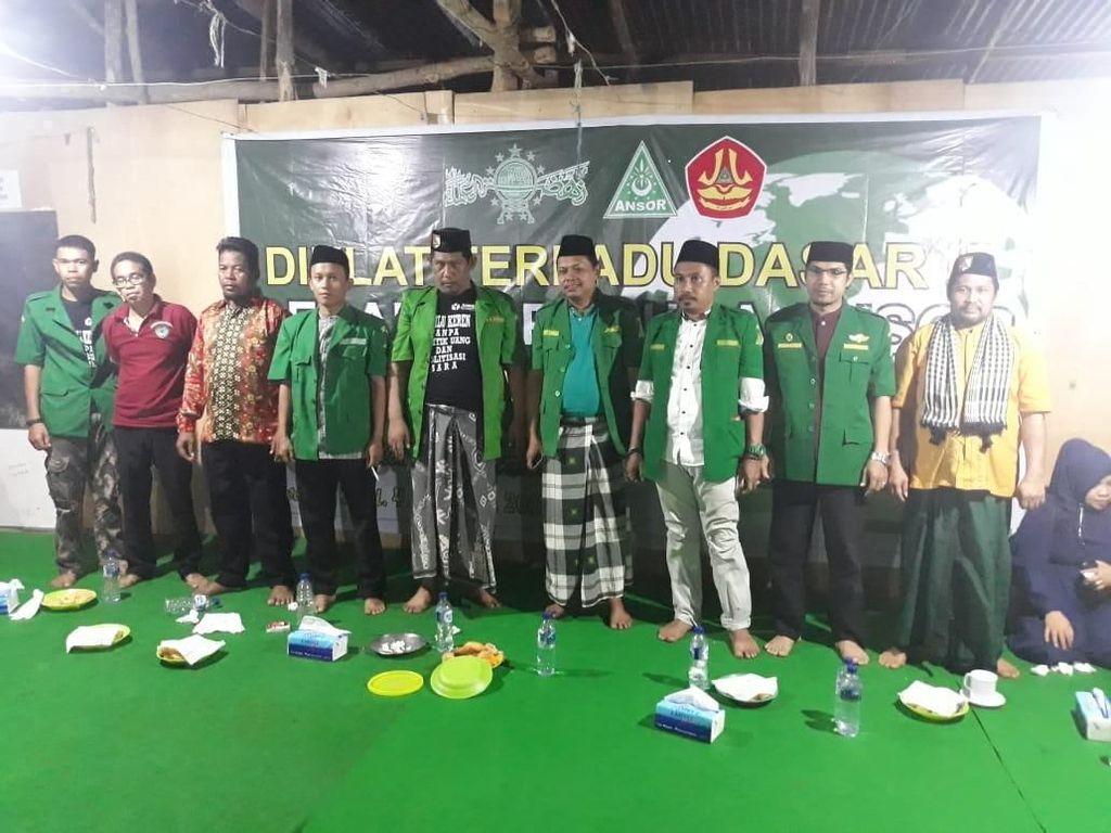 GP Ansor Maros Kawal Pencoblosan di TPS