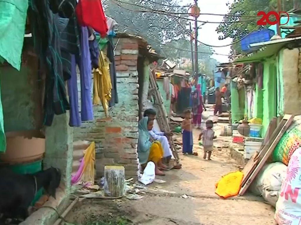 Warga Miskin India Terabaikan dan Dilupakan Politisinya