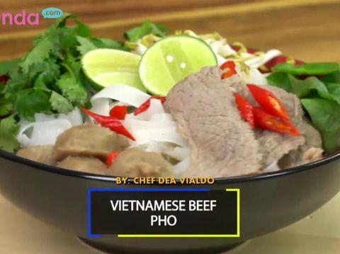 Resep Vietnamese Beef Pho/