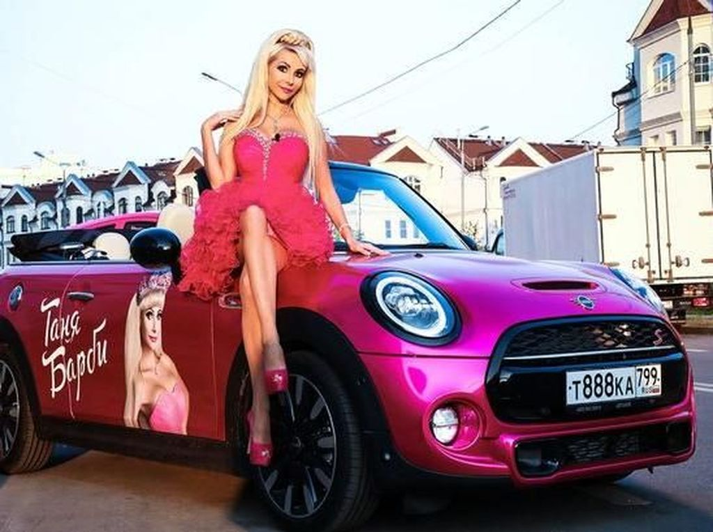 Kisah Tatiana yang Habiskan Rp 2,2 Miliar Demi Jalani Hidup Bak Barbie